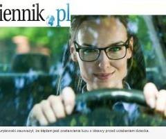 """Gazeta prawna o kampanii """"Ciąża i pasy"""""""